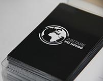 Logo and Business Card Abitare nel Mondo
