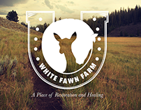 White Fawn Farm Logo