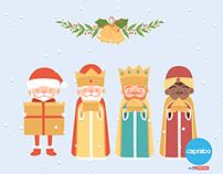 Papá Noeles del mundo