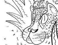Ilustraciones para colorear - Fauna autóctona argentina