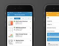 Blueprint cleanse mobile app on behance infor document management malvernweather Gallery