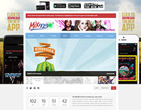 9 Radio Station Site Redesign Project
