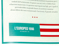 BGX - Page Design and Infographics on L'Europeo