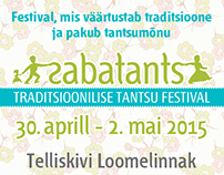Sabatants. Traditional dance festival.
