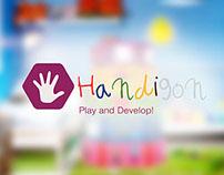 Handigon   Fine motor skills development toy