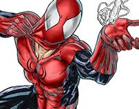 Spiderman portfolio sketches