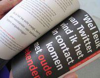 Interactive eBook Tweets oet Twente