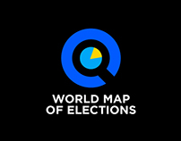 WORLD MAP OF ELECTIONS BRANDING