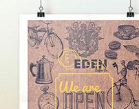 Eden Café Branding