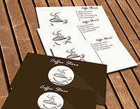 Coffee Store Business Card