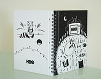 HBO Notebook Cover