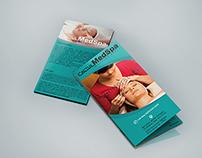 Spa Tri-fold Brochure Design