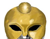 Metallic Venetian Faces
