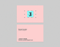 Personal business card – Brando Corradini