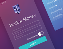 Pocket Money - UX & Mobile Interface Design