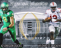 2015 National Championship Design