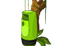 Trash Tree