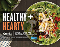 DFW Airport Healthy Campaign