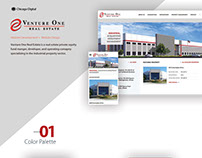 Venture One Real Estate - Website Design
