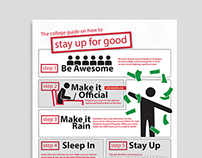 The College Guide on How to Stay Up for Good