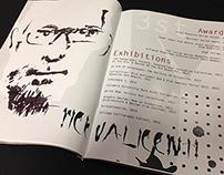 Rick Valicenti Magazine Page Design
