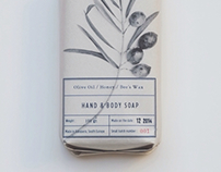 Olive Oil Hand & Body Soap