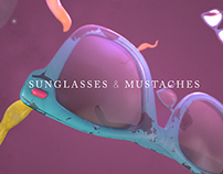 Sunglasses and Mustaches