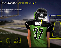 Nike Pro Combat Shell Tech