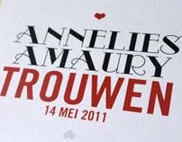 Koekeloerekaartjes • Annelies & Amaury •