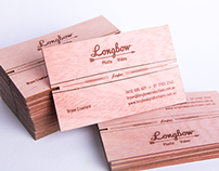 Bow and Arrow Business Card – Longbow