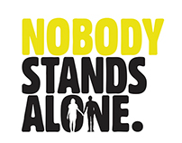 Nobody Stands Alone Logo Design