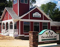 The Wholistic Pet and Equine Center Logo Design