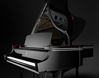 """Steinway and Sons Piano - Limited Edition """"Arabesque"""""""