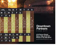 Downtown Partners Calendar