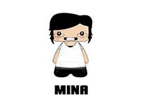 Mina!