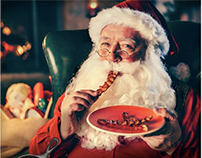 SANTA WANTS BACON: digital campaign