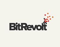 BitRevolt Logo Design