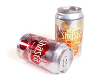 Shasta Soda Rebranding