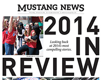Mustang News Design Examples