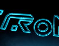 Tron Logo Styleframes