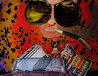 Caricature Project: Hunter S Thompson