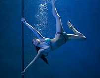 Underwater Pole Fitness/Dance (X-Pole)