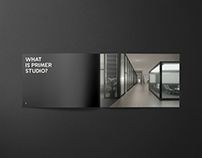 Primer Studio - Information Booklet