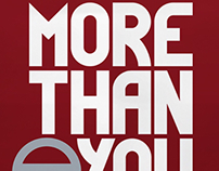 More Than You Logo - Distracted Driving Campaign