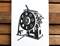 Vicobold Print: letterpress, illustration & printmaking