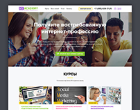 Website «MyAcademy». Internet Marketing School