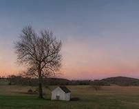 Spring House at Dawn