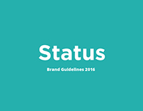 Status Digital stationery set & Brand Guidelines