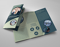 Corporate Business Tri-Fold Brochure Vol.22