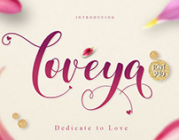 Loveya font free download commercial use.
